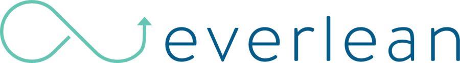 Everlean Logo Türkis und Blau