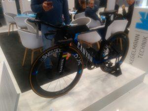 3D-Druck hilft bei der Konstruktion des Triathlon Rads. Foto K. Blanck